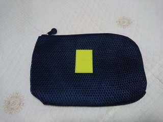 Navy Blue Multipurpose Pouch