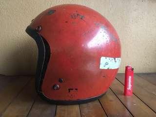 Helmet vintage bell fiber