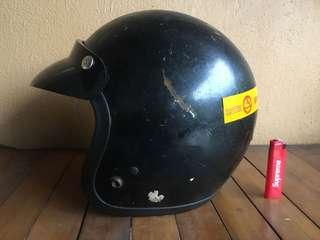 Helmet vintage bell malaya fiber