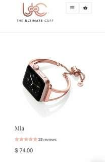 Mia cuff fits 42mm apple watch