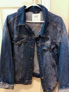 Zara denim jean jacket xs