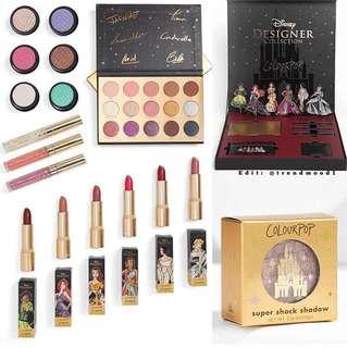 ‼️PREORDER Colourpop cosmetics Disney Designer Collection