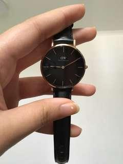 Daniel Wellington Petite Melrose Black 32 mm
