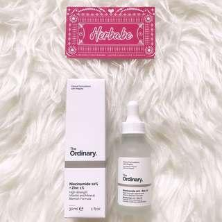 ❇️NEW THE ORDINARY NIACINAMIDE 10% + ZINC 1%