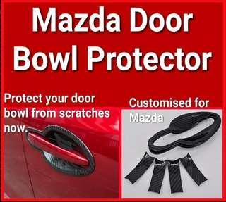 Mazda door bowl protector