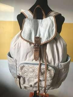 Aeropostale Denim Backpack
