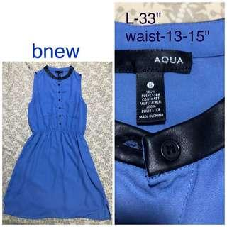 Bnew Blue dress S-M