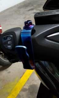 Yamaha Xmax Rainbow Mirror Mount Packet Tabao Kopi Hook