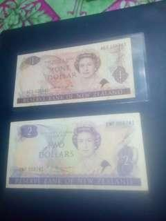 New zealand old note