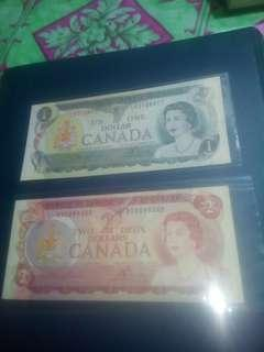 Canada old note