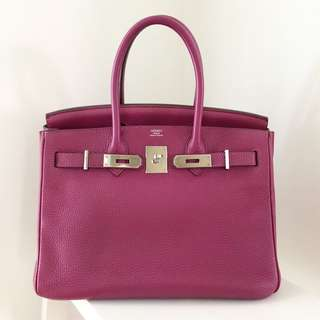 6eb82476864 Hermes Birkin 35 Togo Leather Gold Brown with Gold Hardware Brand ...
