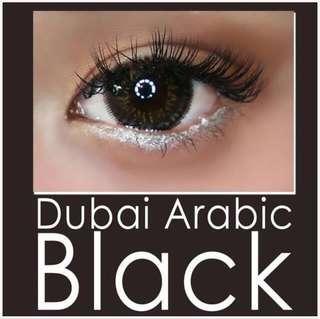 Softlens Dubai Arabic Black FREE CASE