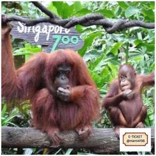 Singapore Zoo Etickets