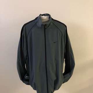 Nike Grey Windbreaker