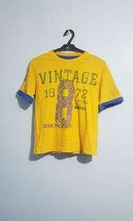 Westcoast connection tshirt yellow 8t