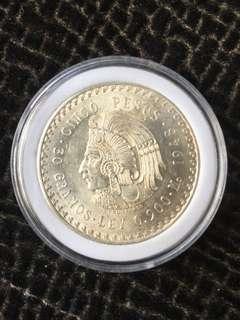 1948 Mexico 5 pesos