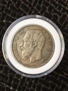 1873 Belges 5F La Forge