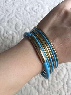 TURQOISE BLUE BANGLE [REDUCED PRICE]