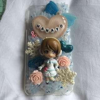 love live anime hanayo decoden case