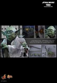 Hot Toys MMS369 YODA  1/6TH SCALE COLLECTIBLE FIGURE