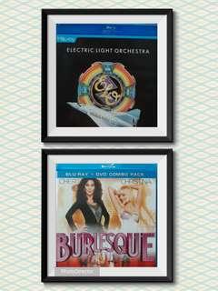 Used music concert blu ray ,electric light,burlesque