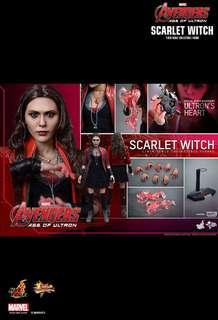 Hot toys MMS301 AVENGERS: AGE OF ULTRON  SCARLET WITCH  1/6TH SCALE COLLECTIBLE FIGURE