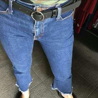 Ready Ring belt kulit pu original from luar negeri