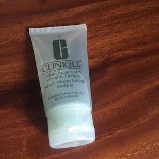 Clinique facial soap