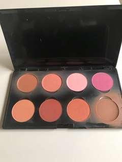 Shade blush on palette MAKE OVER (ori)