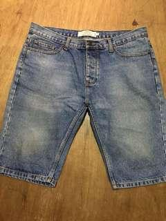 Topman Denim Shorts