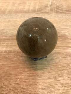 Citrine crystal ball