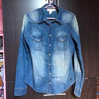 Free shipping H&M denim top/jacket