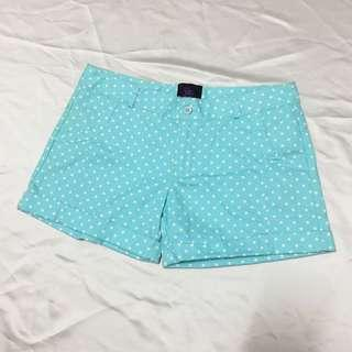 Plains & Prints Polka Dot Shorts