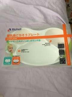 Richell 食物碟