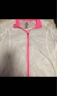 Adidas transparent windbreaker