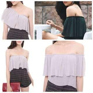 MDS Multiway Pleated Top