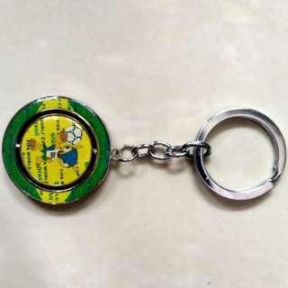 Brazil World cup 2014 keychain