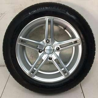 "15"" Sports Rim With Tyres 4x114.3 (SR1356)"