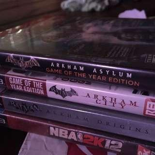 PS3 Titles