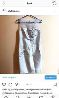 Elegant Ricci Lizaso Formal Dress