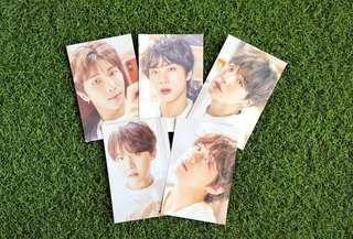 [WTS] BTS EXHIBITION POSTCARD SET A