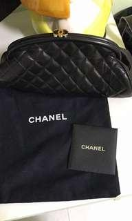 Chanel Kisslock Clutch
