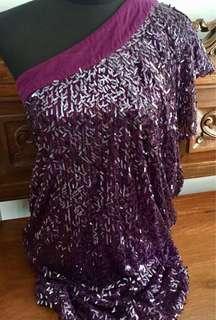 VIOLA Embellished Mini Dress