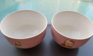 🎉FREE #Blessing➡️FOLLOWERS FREEBIES (read desceiption)🎉🚫Non Followers Not Entitled to Freebies🚫🌈BRAND NEW🌈🐇AUTHENTIC Sanrio Original Hello Kitty Bowls🐇💋No Pet No Smoker Clean Hse💋