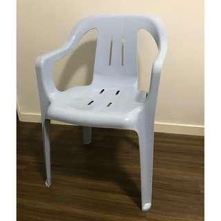 Plastic Chair with Arm Handle