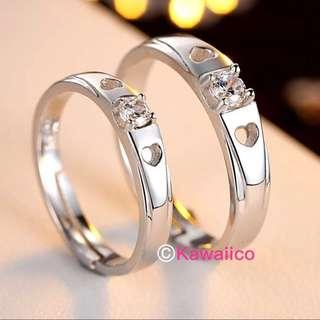 🚚 💍 INSTOCK : Couple Ring Free Mail