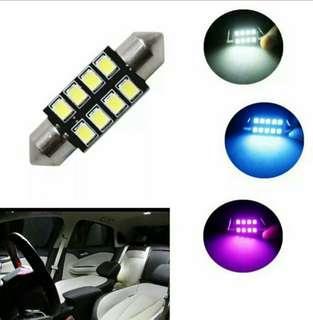 31mm 36mm 39mm 42mm Car LED FESTOON Bulb C5W CANBUS NO ERROR Car Dome Light Auto Interior Lamp DC12V white ice blue pink