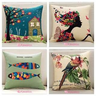 🚚 🌿 [ Free Mail ] Cushion covers instock