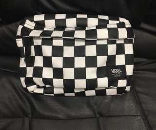 vans waistbag original checked