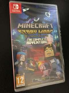 Nintendo Switch Minecraft Story Mode - The Complete Adventure